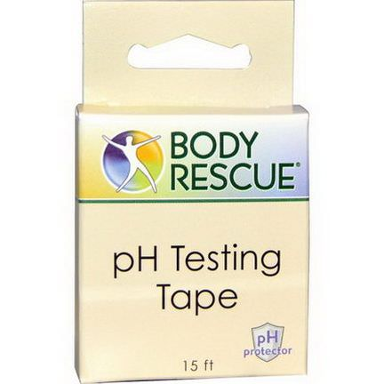 Peelu, Body Rescue, PH Testing Tape, 15 ft