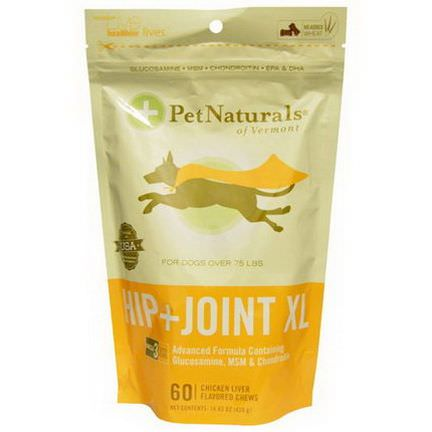 Pet Naturals of Vermont, Hip Joint XL, Chicken Liver Flavored 420g