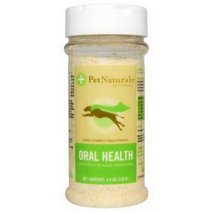 Pet Naturals of Vermont, Oral Health, For Dogs 120g