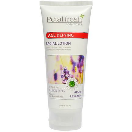 Petal Fresh, Botanicals, Age Defying Facial Lotion, Aloe&Lavender 200ml