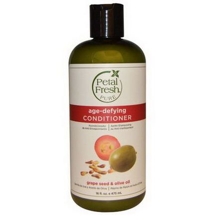 Petal Fresh, Pure, Age-Defying Conditioner, Grape Seed&Olive Oil 475ml
