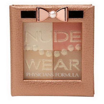 Physician's Formula, Inc. Nude Wear, Touch of Glow Palette, Medium 7g
