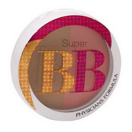 Physician's Formula, Inc. Super BB, All-in-1 Beauty Balm, Bronzer&Blush, SPF 30, Light/Medium, 0.29 oz, 8.4g
