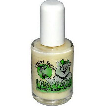 Piggy Paint, Project Earth, Nail Polish, Radioactive, Glows-in-the-Dark 15ml