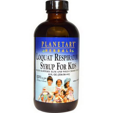 Planetary Herbals, Loquat Respiratory Syrup for Kids 236.56ml