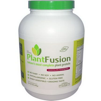 PlantFusion, Nature's Most Complete Plant Protein, Chocolate Raspberry 908g