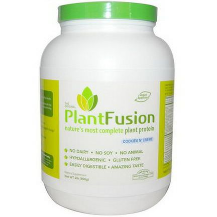 PlantFusion, Plant Protein, Cookies N'Creme 908g