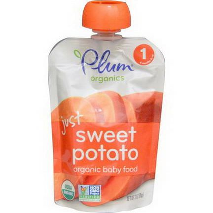 Plum Organics, Organic Baby Food, Just Sweet Potato 85g