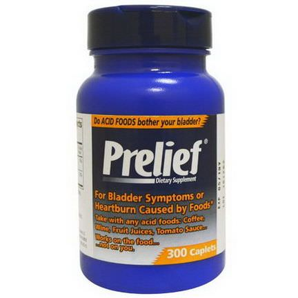 Prelief, Prelief, Dietary Supplement, 300 Caplets