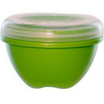 Preserve, Food Storage Container, Green, Large, 25.5 oz