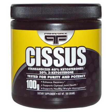 Primaforce, Cissus Powder, 1000mg, 100 Grams