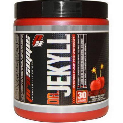 ProSupps, Dr.Jekyll, Intense Pump Pre Workout, Cherry Bomb 312g