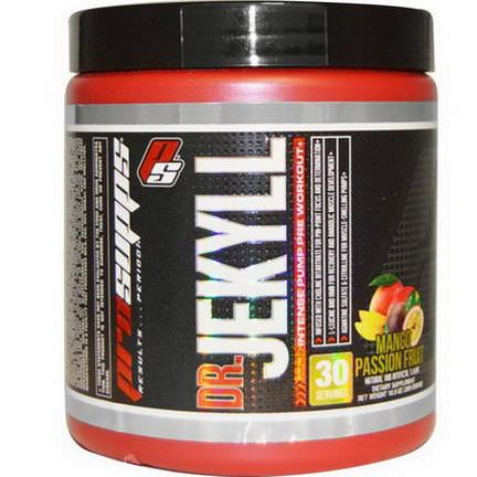 ProSupps, Dr. Jekyll, Intense Pump Pre Workout, Mango Passion Fruit 309g