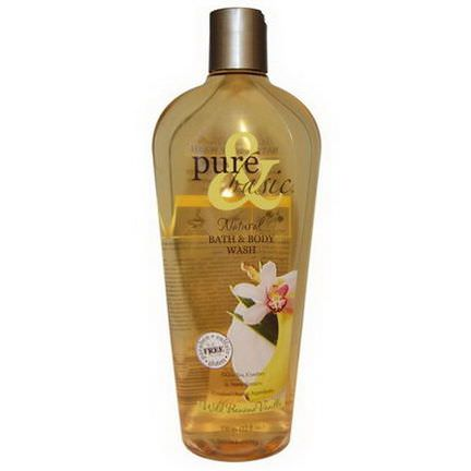 Pure&Basic, Natural Bath&Body Wash, Wild Banana Vanilla 350ml