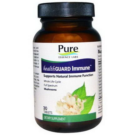 Pure Essence, Health Guard Immune, 30 Tablets