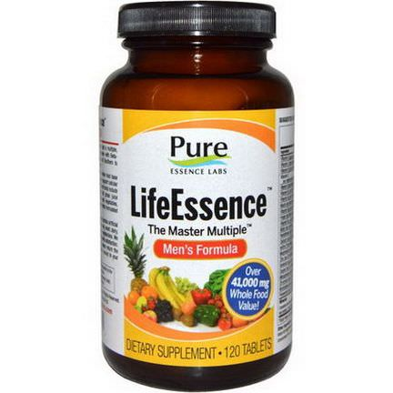 Pure Essence, LifeEssence, The Master Multiple, Men's Formula, 120 Tablets