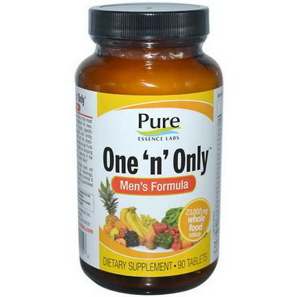Pure Essence, One'n'Only, Men's Formula, 90 Tablets