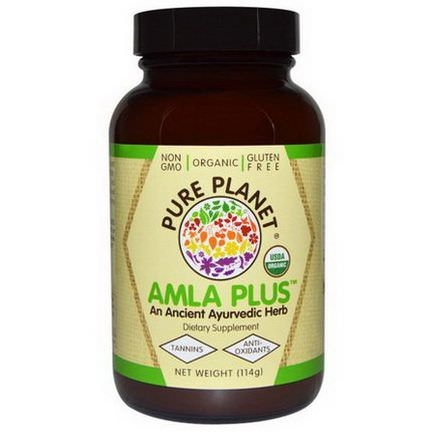 Pure Planet, Organic Amla Plus, 114g