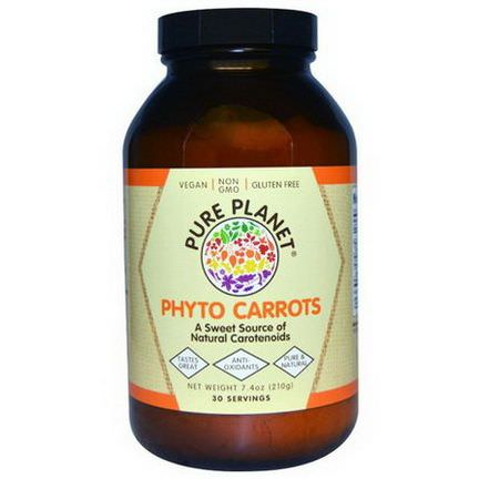 Pure Planet, Phyto Carrots 210g