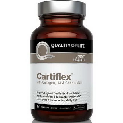 Quality of Life Labs, Cartiflex, 60 Capsules