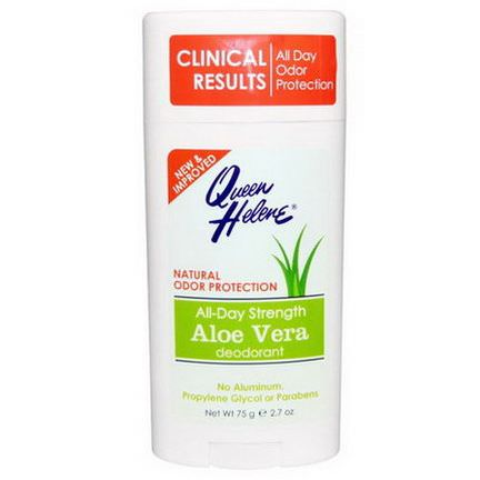 Queen Helene, All-Day Strength Aloe Vera Deodorant 75g
