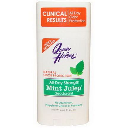 Queen Helene, All-Day Strength Mint Julep Deodorant 75g