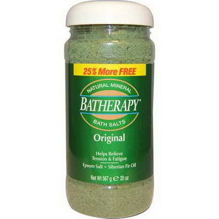 Queen Helene, Batherapy, Natural Mineral Bath Salts, Original 567g