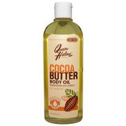Queen Helene, Cocoa Butter Body Oil, Enriched With Vitamin E 296ml