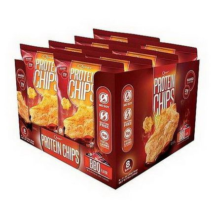 Quest Nutrition, Protein Chips, BBQ Flavor, 8 Bags 32g Each