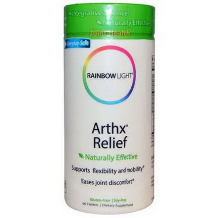 Rainbow Light, Arthx Relief, 60 Tablets