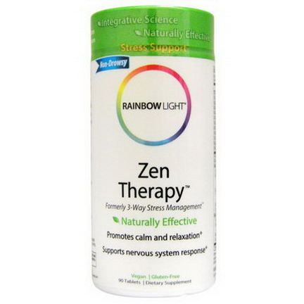 Rainbow Light, Zen Therapy, 90 Tablets