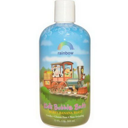 Rainbow Research, Kid's Bubble Bath, Berry Banana Blast 360ml