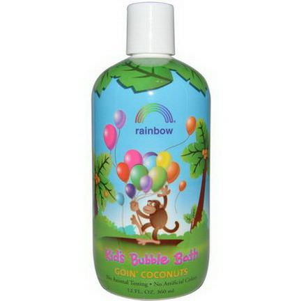 Rainbow Research, Kid's Bubble Bath, Goin'Coconuts 360ml