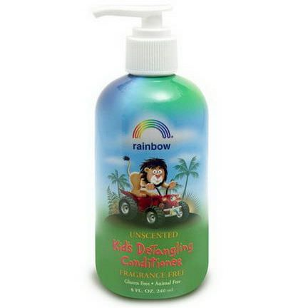 Rainbow Research, Kid's Detangling Conditioner, Fragrance Free, 8 fl oz 240ml