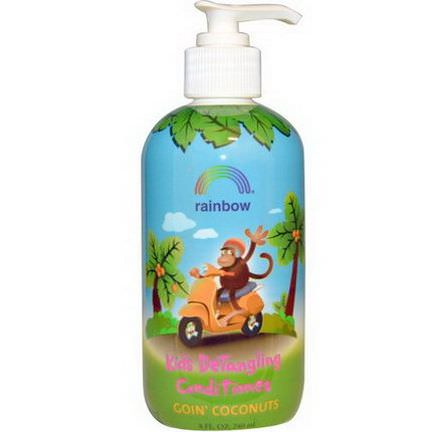 Rainbow Research, Kid's Detangling Conditioner, Goin'Coconuts 240ml