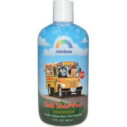 Rainbow Research, Kid's Shampoo, Unscented 360ml