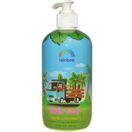 Rainbow Research, Kid's Soap, Goin'Coconuts 360ml