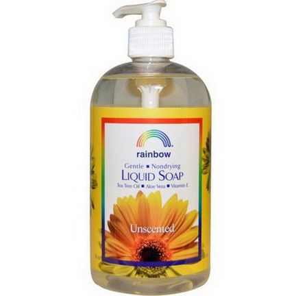 Rainbow Research, Liquid Soap, Unscented 480ml