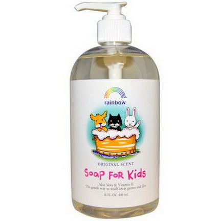 Rainbow Research, Soap For Kids, Original Scent 480ml