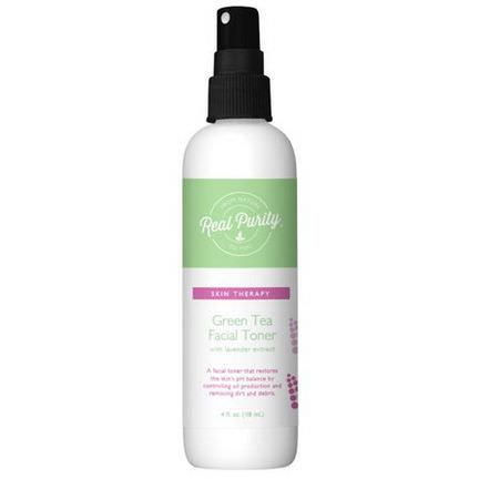 Real Purity, Green Tea Facial Toner 118ml