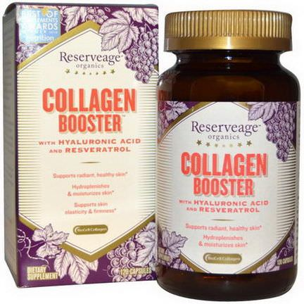 ReserveAge Nutrition, Collagen Booster, 120 Capsules