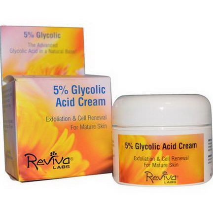 Reviva Labs, 5% Glycolic Acid Cream 42g