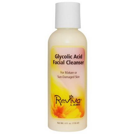 Reviva Labs, Glycolic Acid Facial Cleanser 118ml