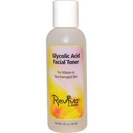 Reviva Labs, Glycolic Acid Facial Toner 118ml