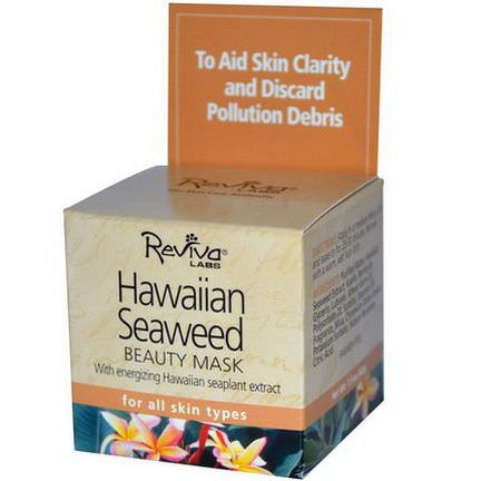 Reviva Labs, Hawaiian Seaweed Beauty Mask 42g