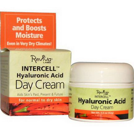 Reviva Labs, InterCell, Hyaluronic Acid Day Cream 42g
