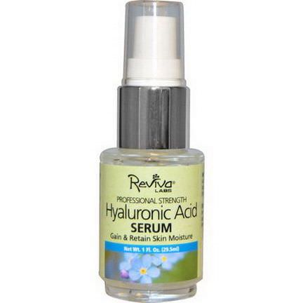 Reviva Labs, Professional Strength, Hyaluronic Acid Serum 29.5ml