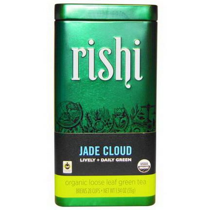 Rishi Tea, Organic Loose Leaf Green Tea, Jade Cloud 55g