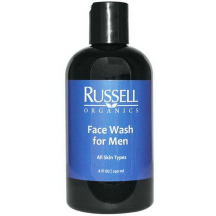 Russell Organics, Face Wash for Men 240ml