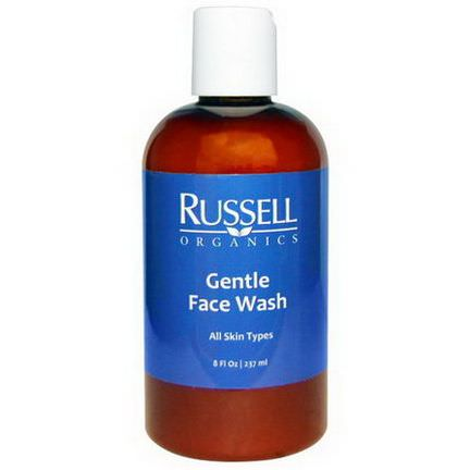 Russell Organics, Gentle Face Wash 237ml